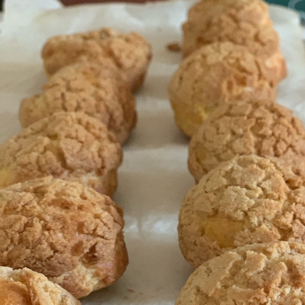 Baking Class: Cream Puffs (Choux au Craquelin)3