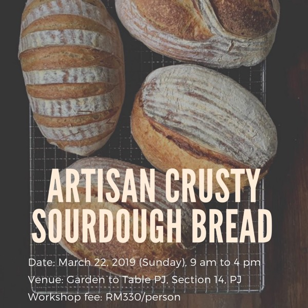 Sourdough Bread Class: Artisan Crusty Sourdough Bread (Beginner) 0