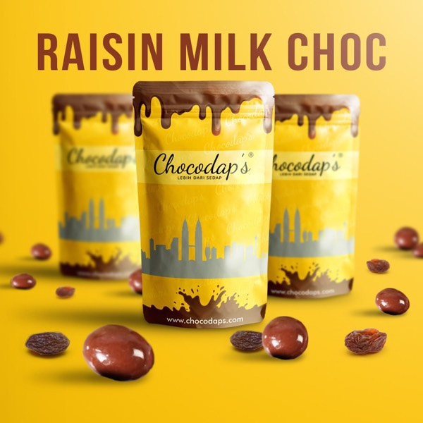 Raisin Milk Choc0