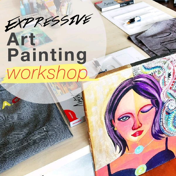 1-Day Workshop Expressive Art Painting