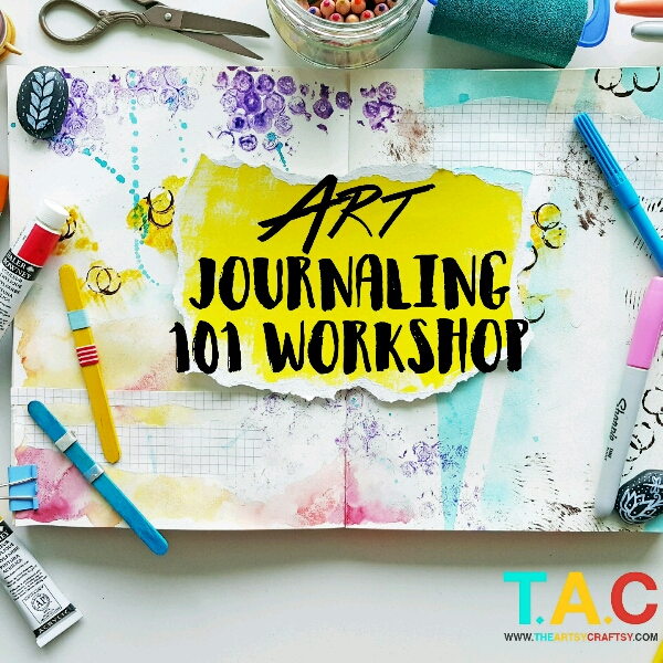 1-Day Creative Art Journaling 101 Workshop