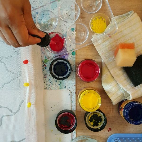 Advanced Silk Fabric Painting Class1