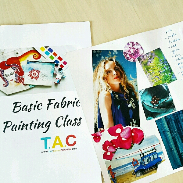 Basic Fabric Painting Class