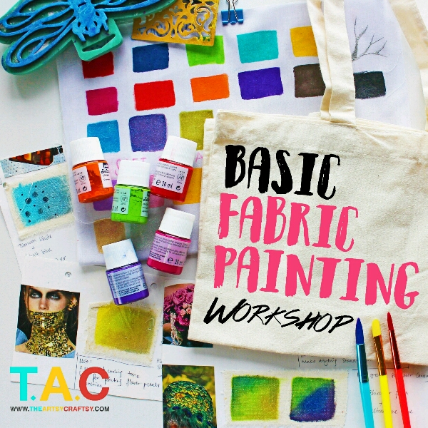 1-Day Beginner Fabric Painting Class