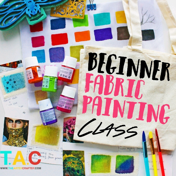 Beginner Fabric Painting Class0