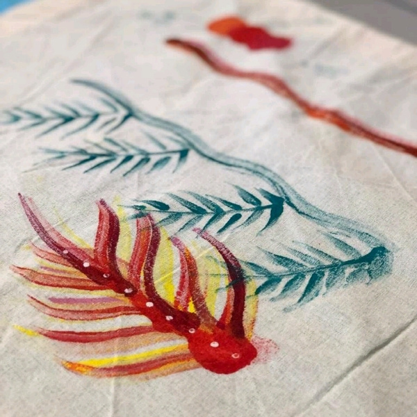 Beginner Fabric Painting Class1