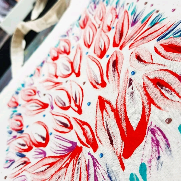 Beginner Fabric Painting Class3