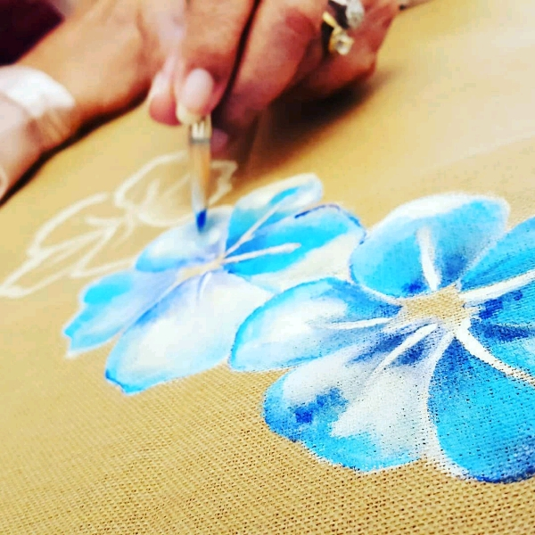 Beginner Fabric Painting Class4