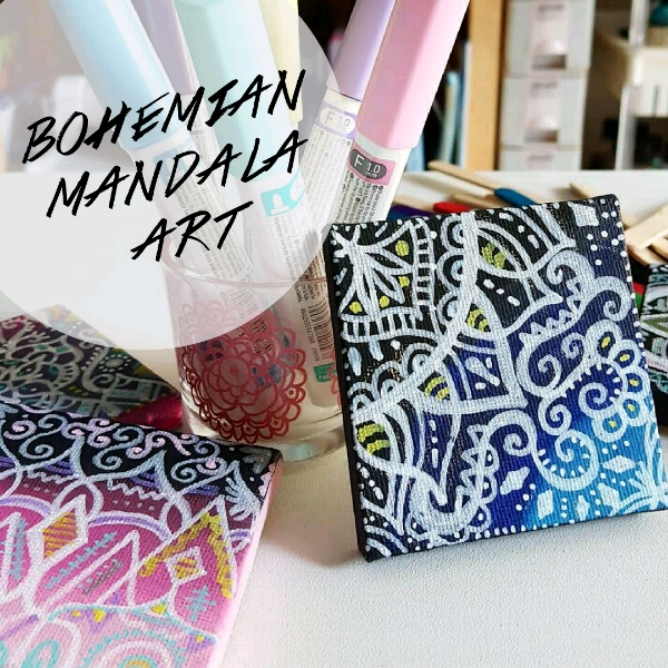 Bohemian Mandala Art Mini Workshop0