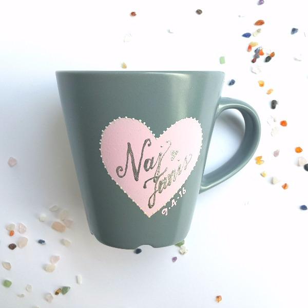 Customized Handpainted Mugs