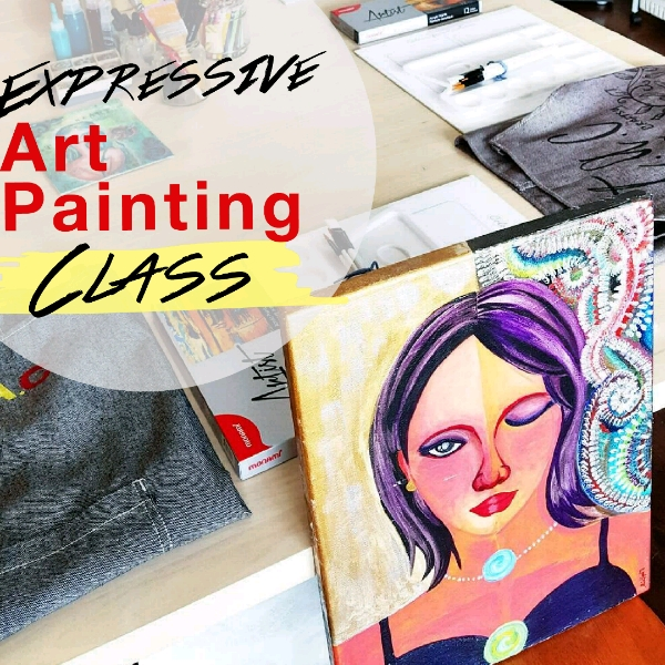 Expressive Art Painting Class