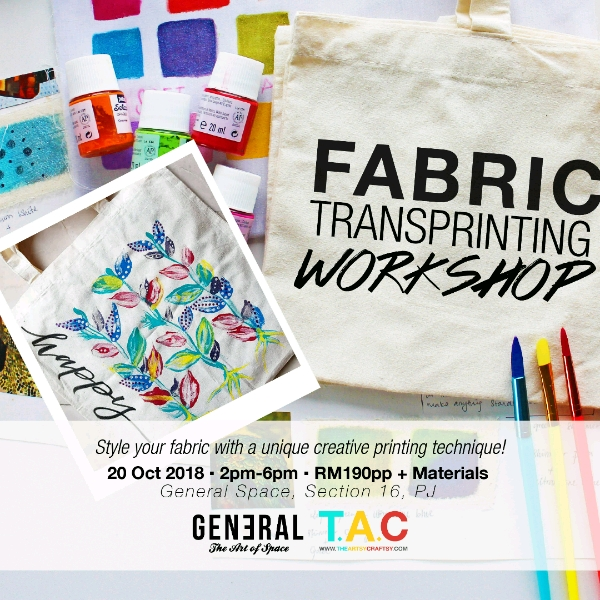 Fabric Transprinting @ GENERAL