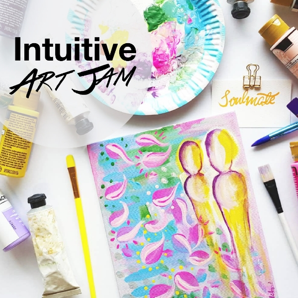 Art Therapy: Intuitive Art Jam0