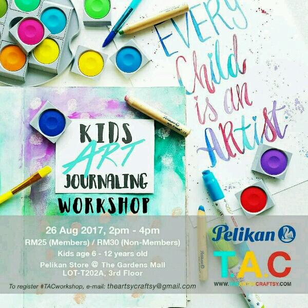 (Non MEMBERS) Kids Art Journaling Workshop0