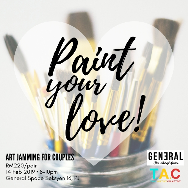 Paint Your Love - Intuitive Art Jam