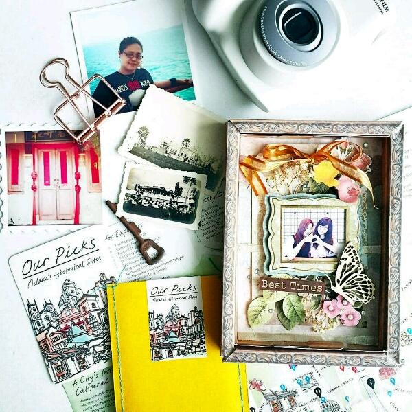 Scrapbook Memories By Shazmone @paperkraf