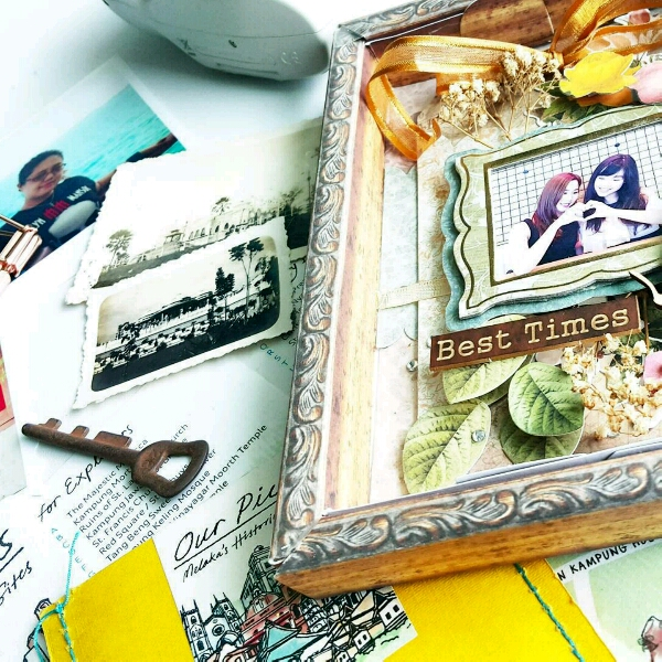 Scrapbook Memories By Shazmone @paperkraf1