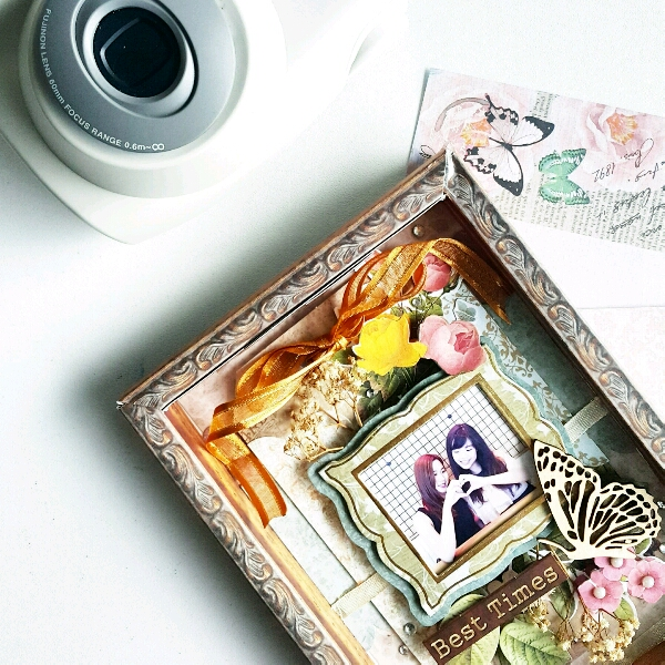 Scrapbook Memories By Shazmone @paperkraf3