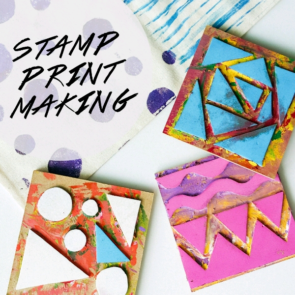 Fabric Stamp Printing Mini Workshop