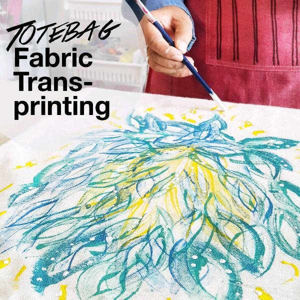 Totebag Fabric Transprinting Mini Workshop