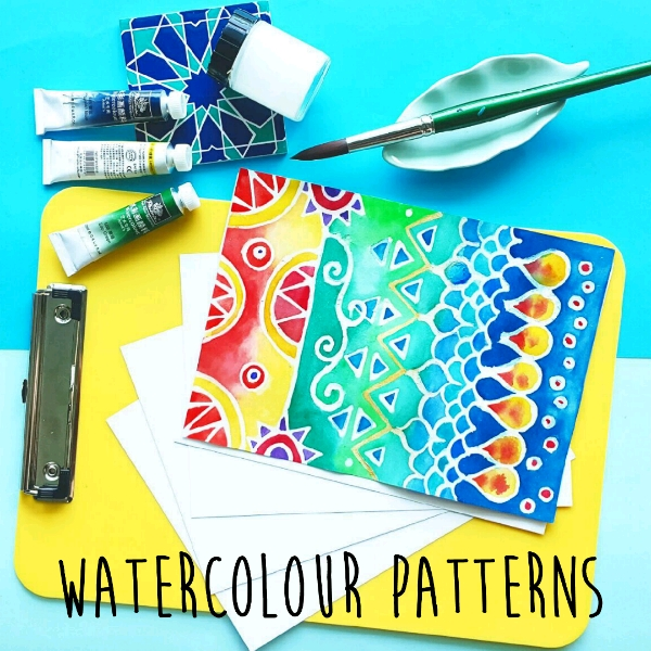 Watercolour Prints & Patterns Mini Workshop