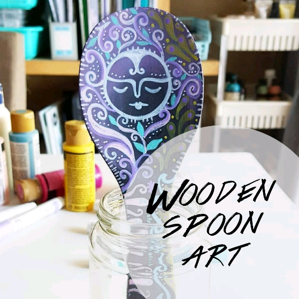 Wooden Spoon Art Mini Workshop0
