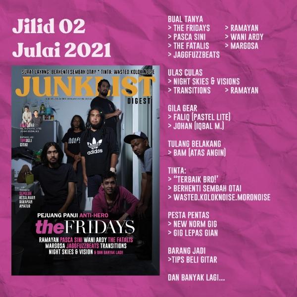 Junklist Digest - Julai 2021