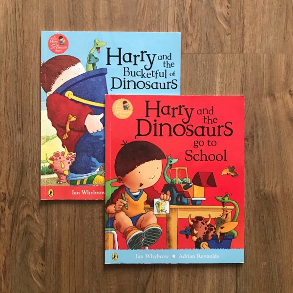Harry And The Dinosaurs (2 Books)0
