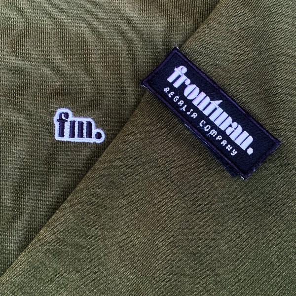 Frontman Crewneck Sweatshirt, Olive Green3