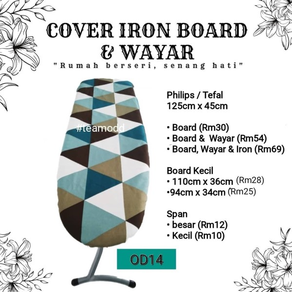 Cover Ironboard Besar (125cmx45cm)0