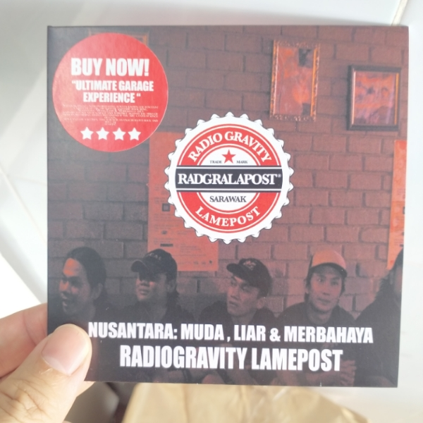 Radiogravity Lamepost- Nusantara : Muda, Liar & Merbahaya0