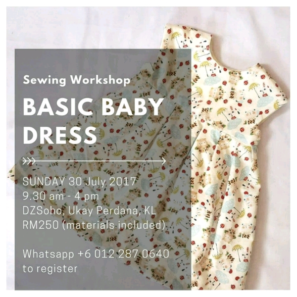 #BasicBaby Dress Workshop