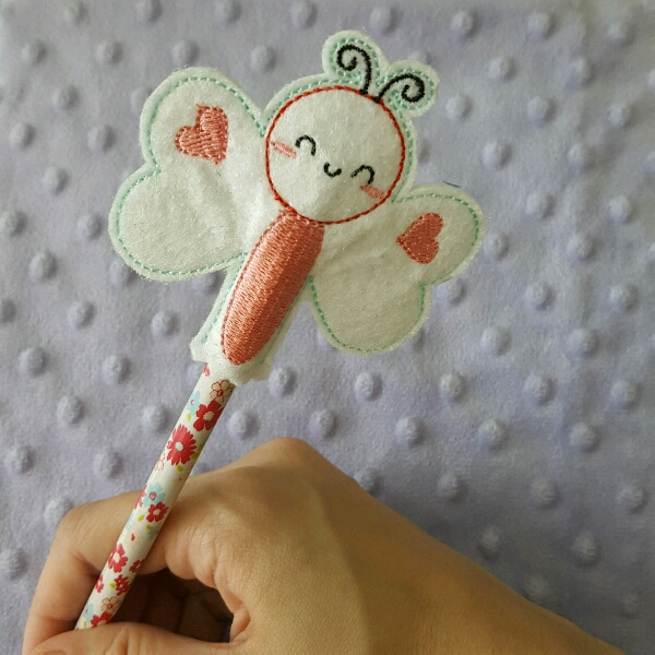 Pencil Toppers - Butterfly