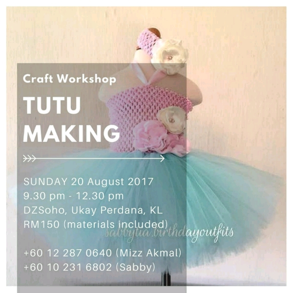 NO SEW Tutu Dress Making Workshop