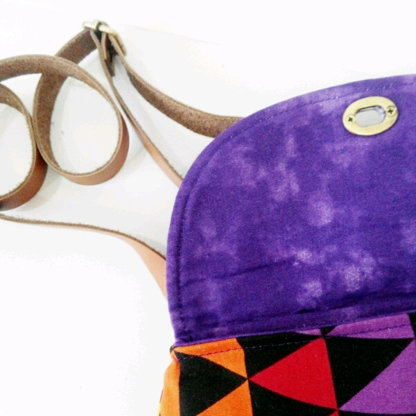 Colourful Curvy Sling Bag1