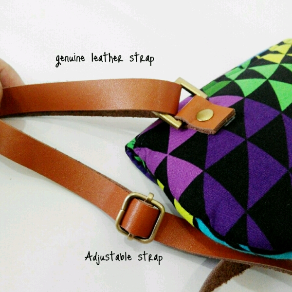 Colourful Curvy Sling Bag3