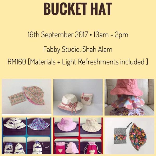 Bucket Hat Workshop By Azzahra Kaur0