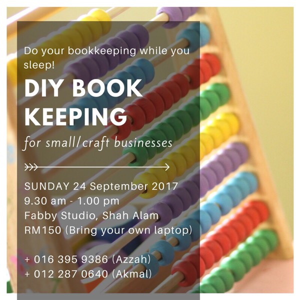DIY Bookkeeping For Small Craft Business0