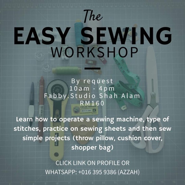 Easy Sewing Workshop 0
