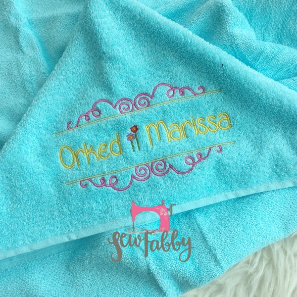 Kids Hooded Towel0