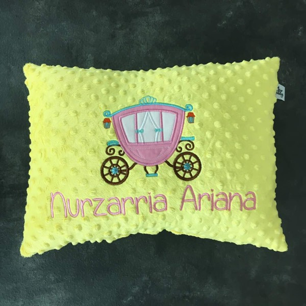 Personalized Minky Pillow1