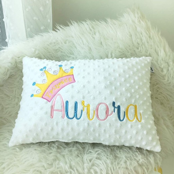 Personalized Minky Pillow2