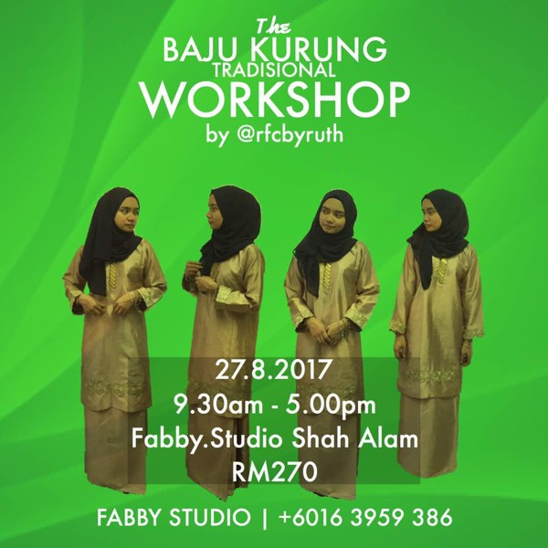 Sewing Workshop - Baju Kurung0
