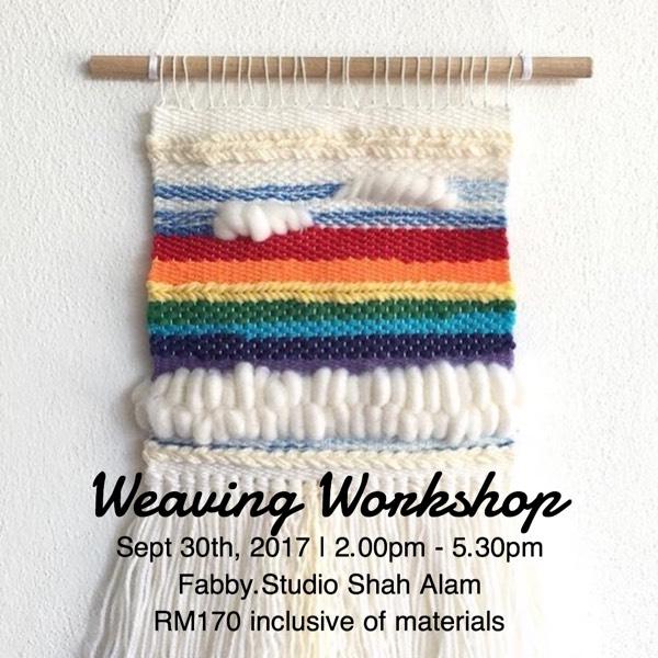 Weaving Workshop Sept 30th, 20170