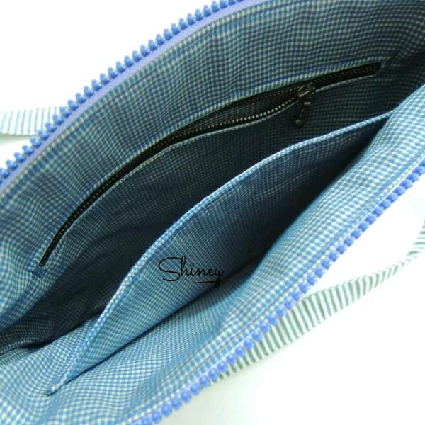 Thin Square Sling Bag 扁型斜挎包3