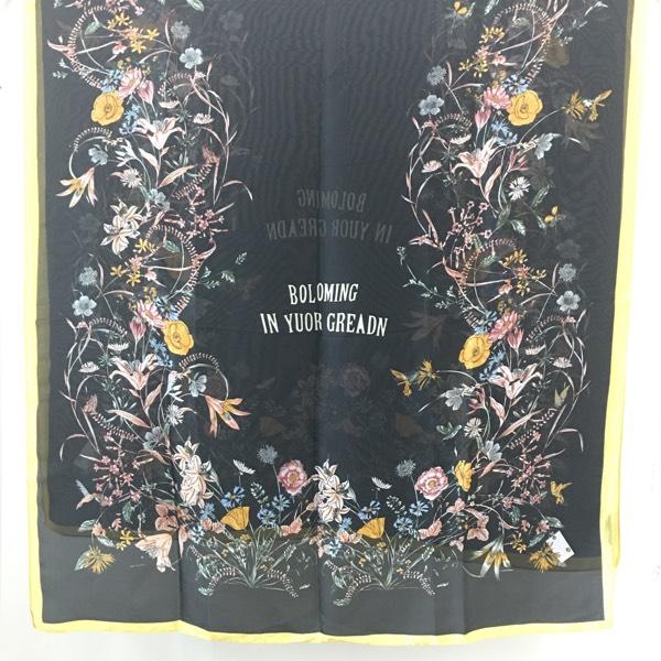 Blooming Garden On Black0