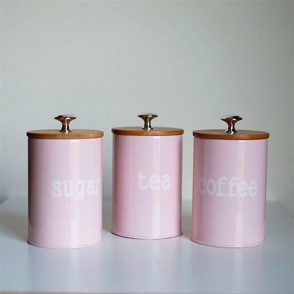 Canister-3 Pieces Pink1