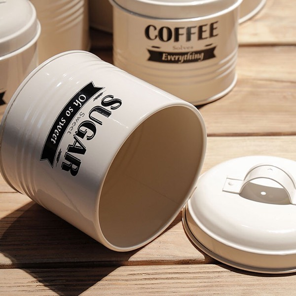 Canister - 5 Pieces White2