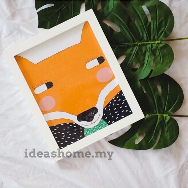 Painting - Fox0