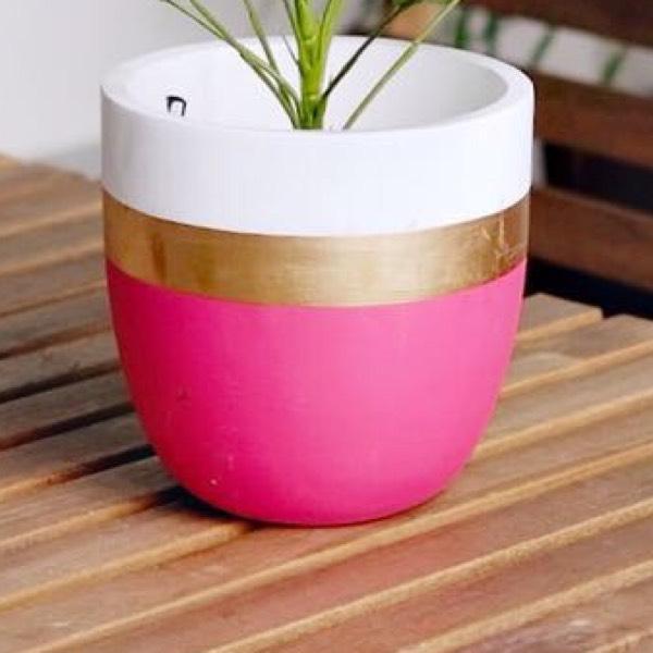 Vase - Concrete Pink0